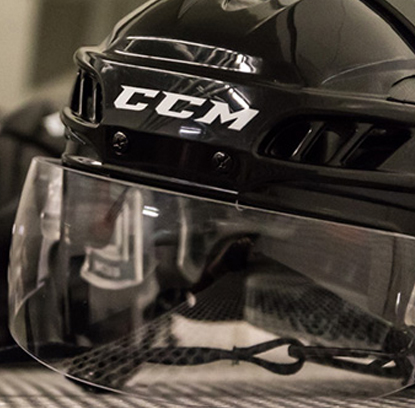 Casque de DEK Hockey